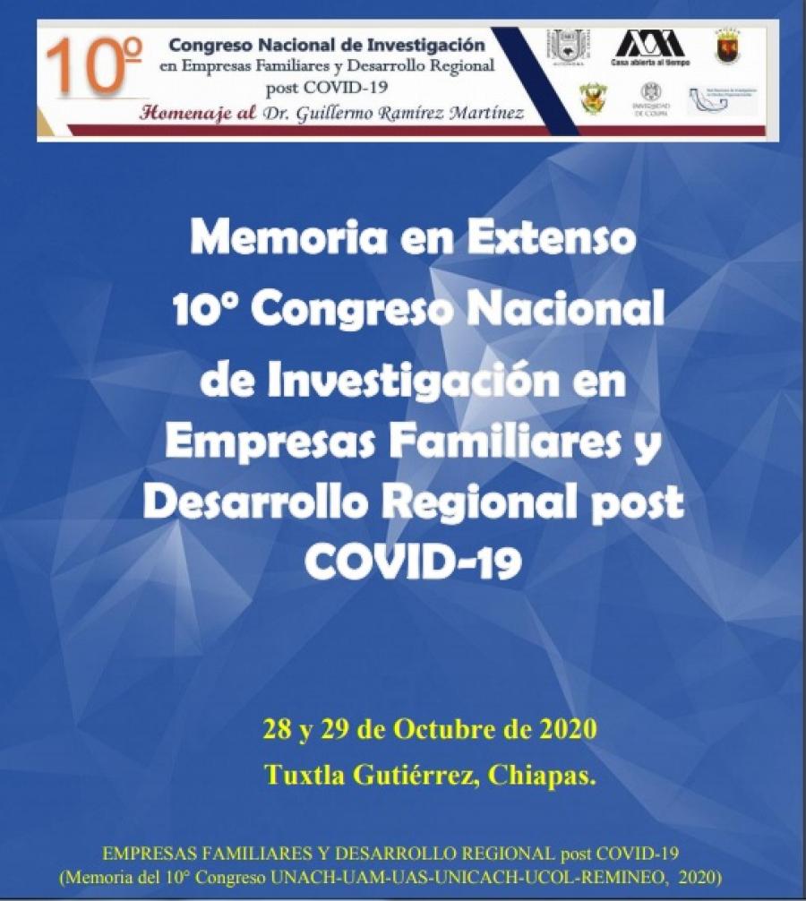 Descarga la Memoria en Extenso del 10° Congreso Nacional de Investigación